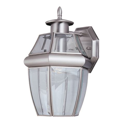 Brushed Nickel Outdoor Light Fixtures 10 Reasons To Install Brushed Nickel Outdoor Lights Warisan Lighting