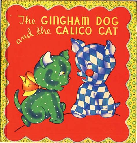 the gingham and the calico cat gingham and the calico cat eugene field