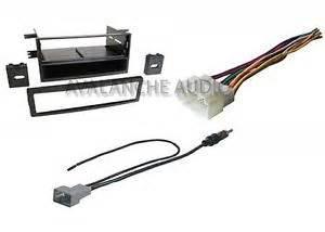 honda pilot exl 2006 2008 car stereo radio dash install kit w wire harness set