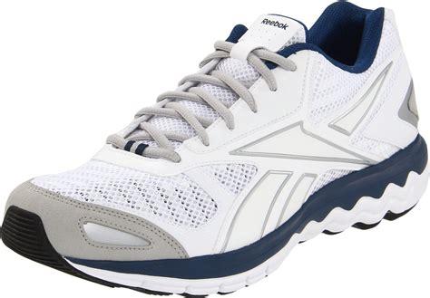 reebok reebok mens fuel running shoe in white for