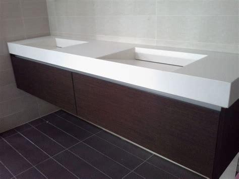 corian vanity floating vanity white corian top with integrated sinks