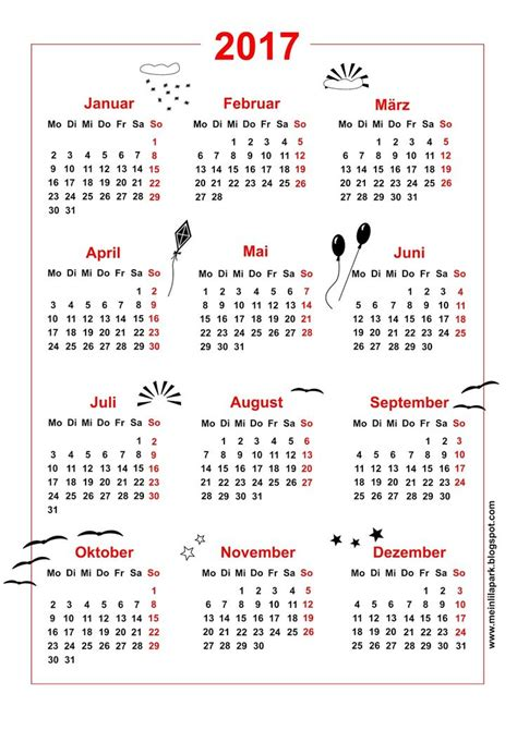 Kalender 2017 A1 25 Beste Idee 235 N Afdrukbare Kalenders Op