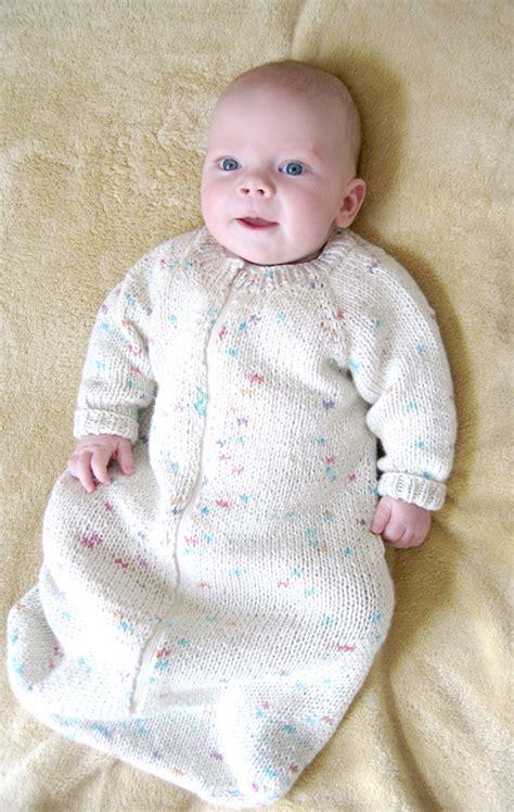 Baby Knitted Sleeping Bag 103 baby sleeping bag knitting and simple