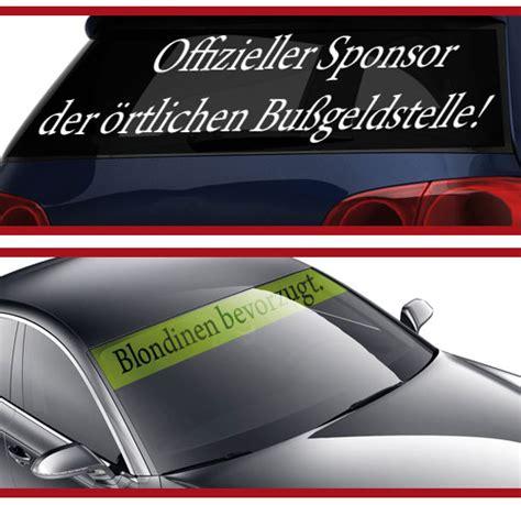 Aufkleber Druck Auto by Spr 252 Che Als Autoaufkleber Drucken Lassen