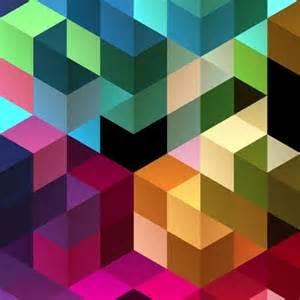 free design abstract retro mosaic design background vector