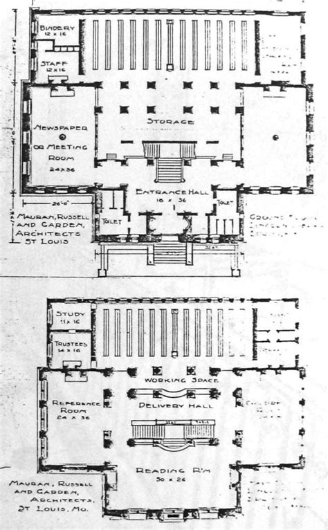 lincoln memorial floor plan lincoln library carnegie building 1904 74 sangamonlink