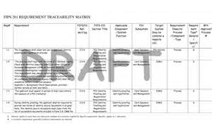security standards template requirements traceability matrix template pdf