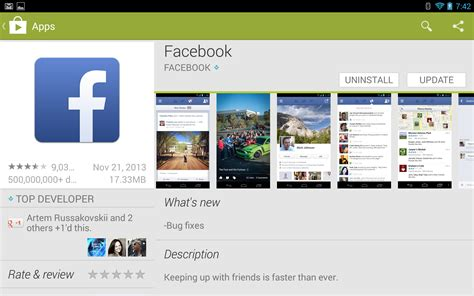 play store app for android tablet play store now gives better visibility to tablet optimized apps shames others as