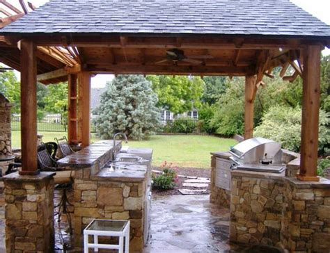 Ideas For Outdoor Kitchens Outdoor Kitchen Design Ideas