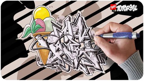 ice wildstyle graffiti tutorial youtube