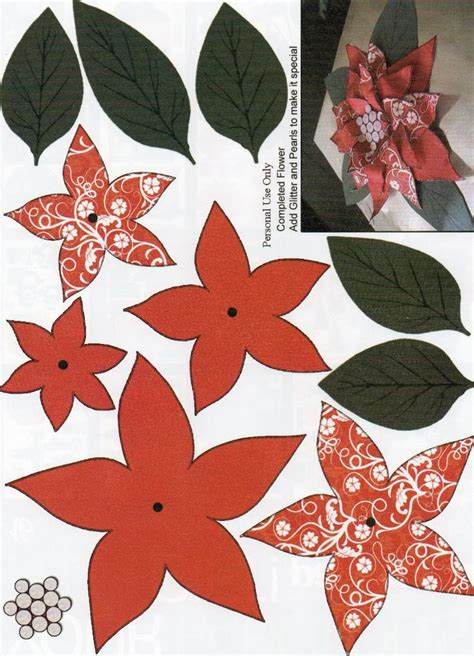 Paper Poinsettias Made From Recycled Cards Template by 80 Best Papier 3d Images On 3d Paper 3d
