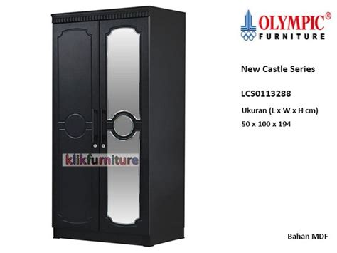 Lemari Olympic Frozen sale harga lemari pintu 2 lcs0113288 new castle olympic