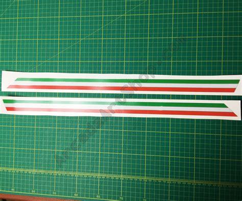 Line Stripe By silver foil outrun 2 line stripe decals pair japan cab