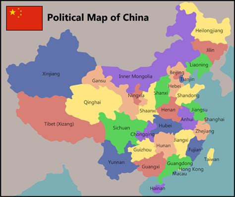 china political map china physical map quiz my