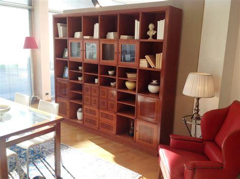 modelli di librerie in legno libreria annibale colombo in legno di ciliegio con parti