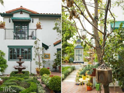 garden cottage inn san clemente mr mrs green wedding garden cottage bed and breakfast