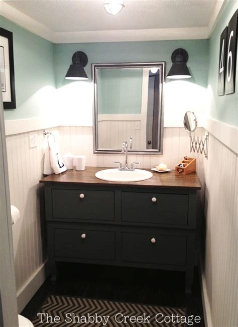 Farm Style Bathroom Vanity Feature Friday Shabby Creek Cottage Southern Hospitality