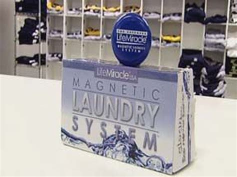 work magnetic laundry system