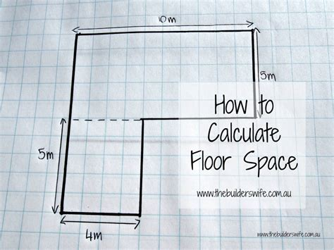 how to calculate floor space the builder s wife