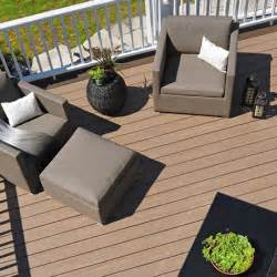 Colors That Complement Gray harvest decking collection pvc decking plastic decking