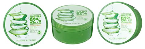 Nature Republic Aloe Vera Soothing Gel Hair Treatment nature republic new soothing moisture aloe vera gel 92