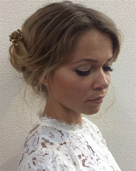 Wedding Updos For Thin Hair by 40 Best Wedding Hairstyles That Make You Say Wow