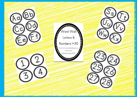 printable letters of the alphabet for word wall 175 best learning printables for kids images on pinterest