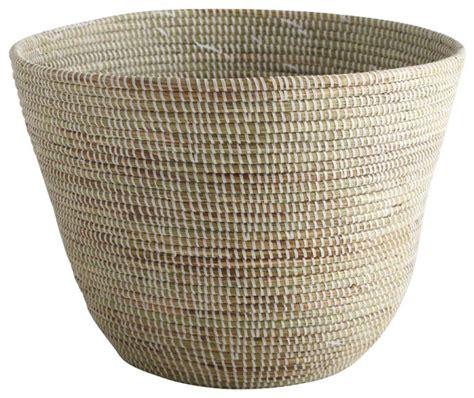 Handmade Baskets From Africa - large handmade basket modern baskets by zestt