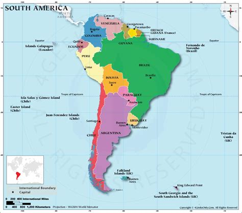 map of south american countries popular 244 list map of south american countries
