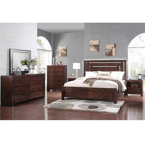 Bevelle 5 Bedroom Set by Legends Furniture Zctl 7700 5pc King City Lights 6