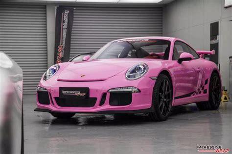 pink porsche 911 spotlight gloss pink porsche 991 gt3