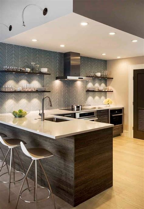 floating shelves with lights underneath 8 bright accent light ideas for your kitchen