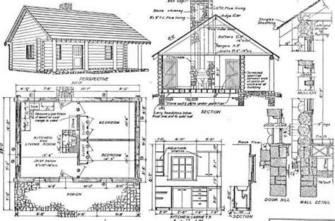 cabin floor plans free log home plans 40 totally free diy log cabin floor plans
