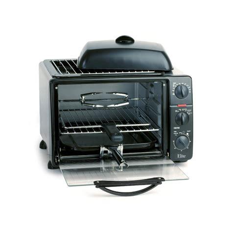 Elite Toaster Oven Broiler Rotisserie Maxi Matic Elite Ero 2008sc Platinum 23 Liter Toaster Oven