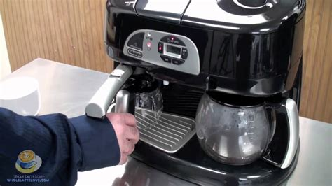 DeLonghi BCO130T Combination Machine at Whole Latte Love   YouTube