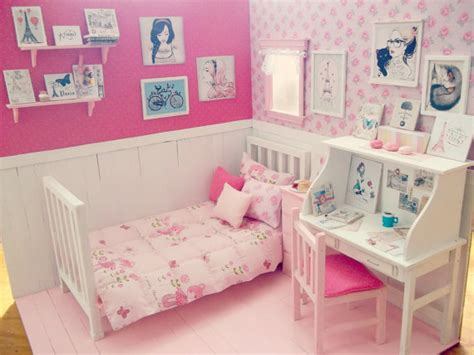doll bedroom bedroom doll ooak diorama day in