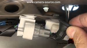 2006 4 runner backup camera install part 1 youtube