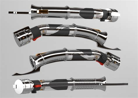 Kaos 3d Fullprint Ml Saber 3d count dooku lightsaber by araiel on deviantart