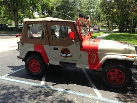Jurassic Park Jeep Wrangler For Sale Sell Used 1994 Jeep Wrangler Jurassic Park Jeep