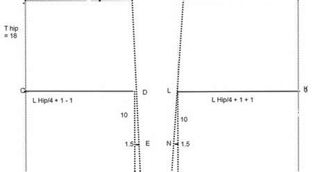 Panduan Lengkap Menjahit Pola Dasar Busana Dewasa Anak 1 pola dasar rok sederhana danitailor
