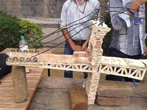 London Bridge build by Indian Technocrats using Ice cream