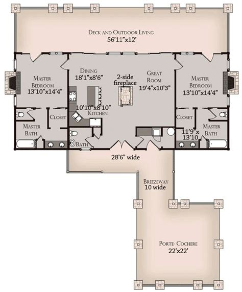 master suite house plans log home plan with master suites