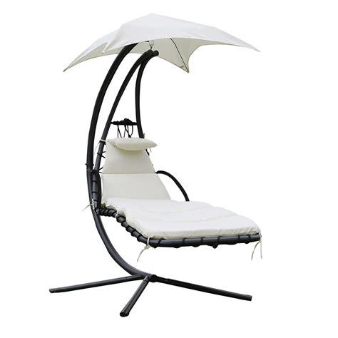 fauteuil chaise longue fauteuil suspendu chaise longue de jardin avec ombrelle