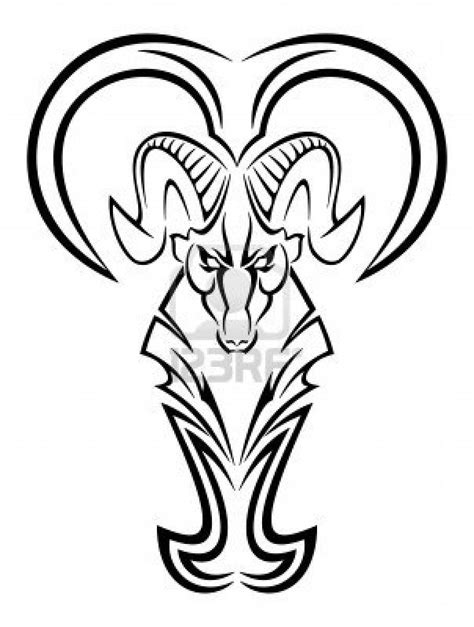 aries tribal tattoo designs tribal zodiac aries design for think ink