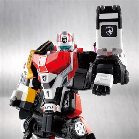 Ssk Power Ranger Robot Figure chogokin diecast robot power rangers spd deka ranger