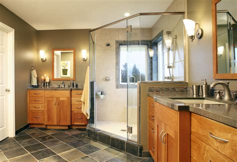 craftsman style bathroom ideas craftsman style master bathroom this bathroom was