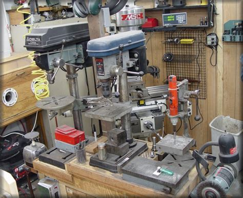 Stan Wilson Knives Drill Presses