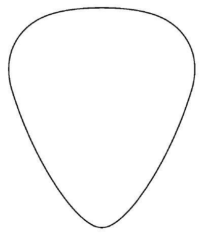 download vector about guitar pick template item 3 vector