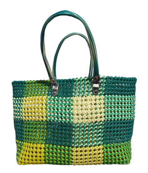Handmade Shopping Bag - buy raday handmade green wire shopping bag at best prices