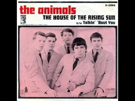 the animals house of the rising sun the house of the rising sun the animals con testo e traduzione youtube